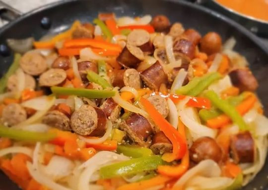 Permalink to Italian Sausage and Peppers